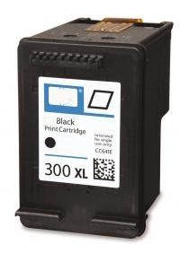 HP 300XL - CC641E - kompatibilní - černá
