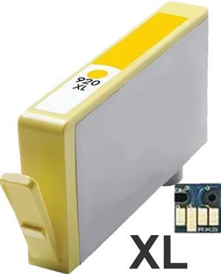 HP 920XL Yellow - CD974AE - žlutý - včetně čipu - kompatibilní