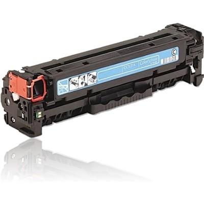 HP CC531A modrý - 304A - kompatibilní
