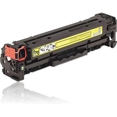 HP CC532A žlutý - 304A - kompatibilní