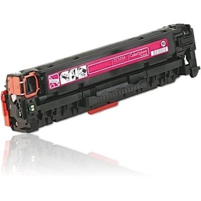 HP CC533A červený - 304A - kompatibilní