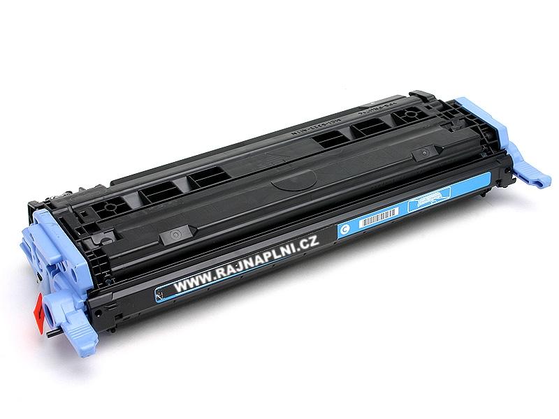 HP Q6001A modrý - 124A - kompatibilní