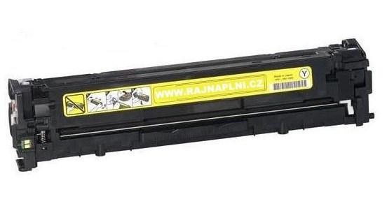 HP CB542A žlutý - 125A - kompatibilní