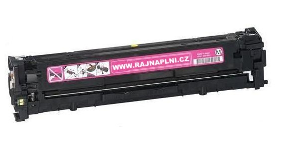 HP CB543A červený - 125A - kompatibilní