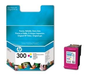 HP 300 - CC643EE - ORIGINÁLNÍ - barevná