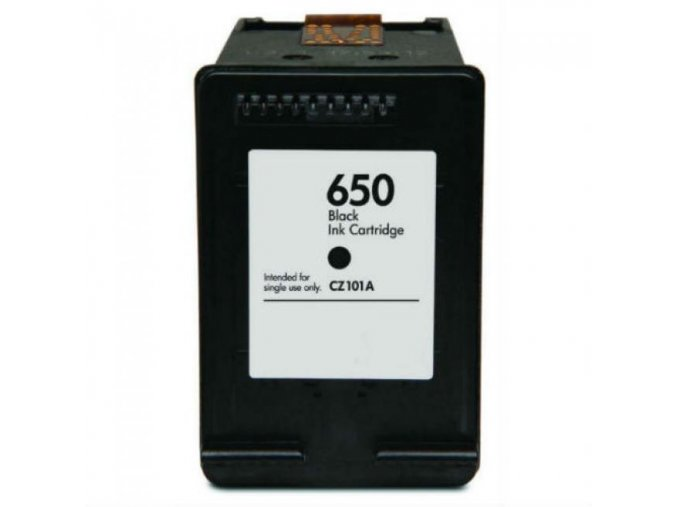 HP 650XL Bk CZ101AE - kompatibilní