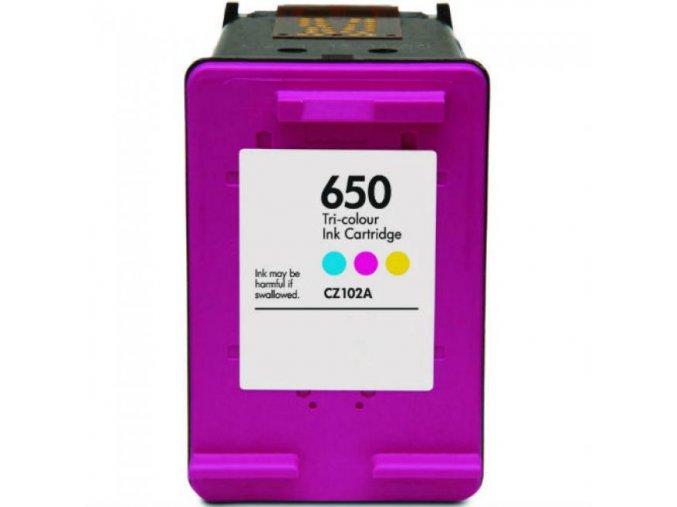 HP 650XL Color CZ102AE - kompatibilní