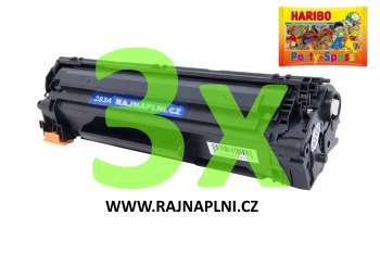 3x HP CF283A - 83A - kompatibilní toner + HARIBO Party-Spass 425g