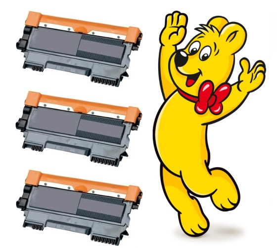 3x Brother TN-2320 - kompatibilní toner + 2x HARIBO 200g